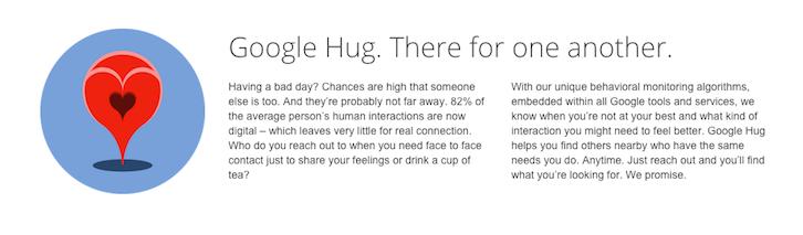 google hug